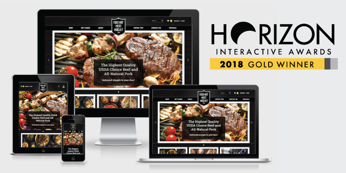 Fareway Meat Market Website - 2018 Horizon Award.