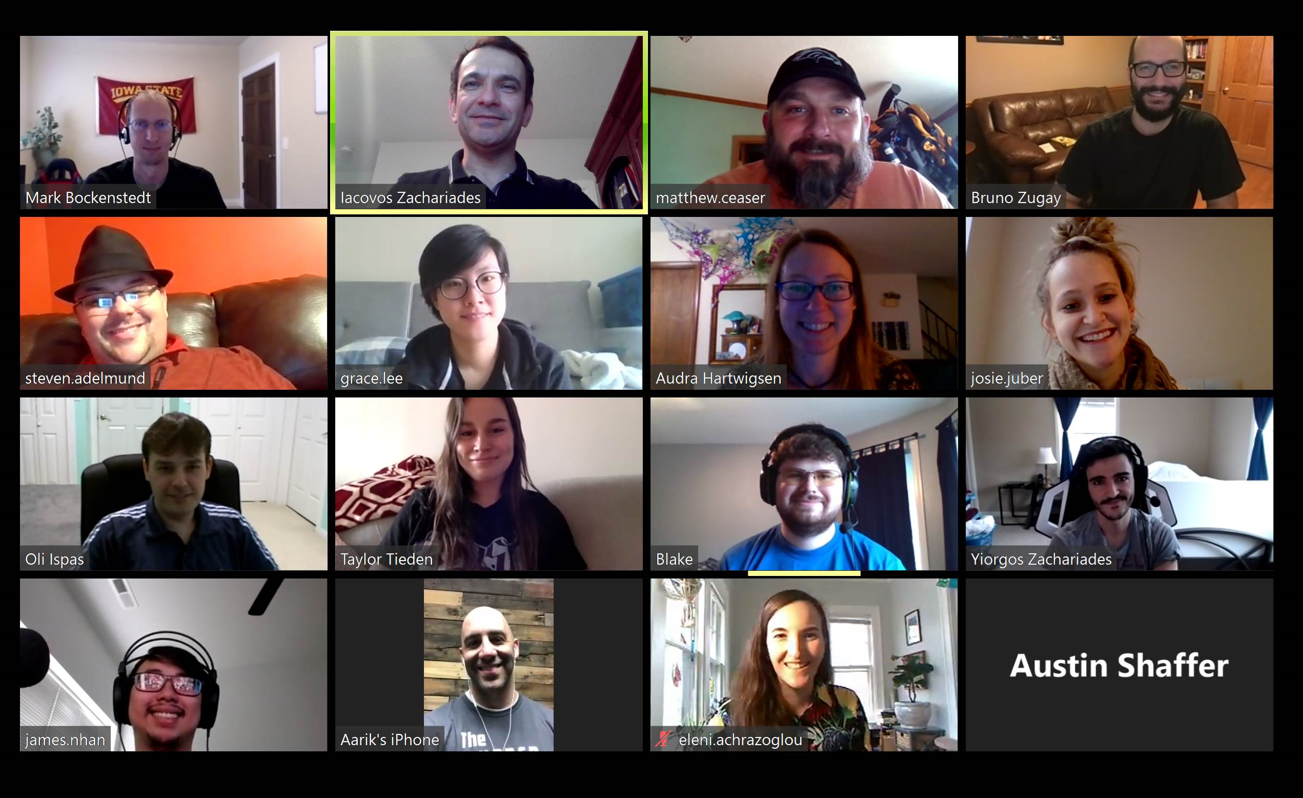 Global Reach Team Zoom Meeting