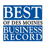 Business Record Best of Des Moines logo.