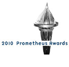 2010 Prometheus Award logo.