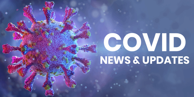 Graphic of the Coronavirus COVID-19 for News and Updates