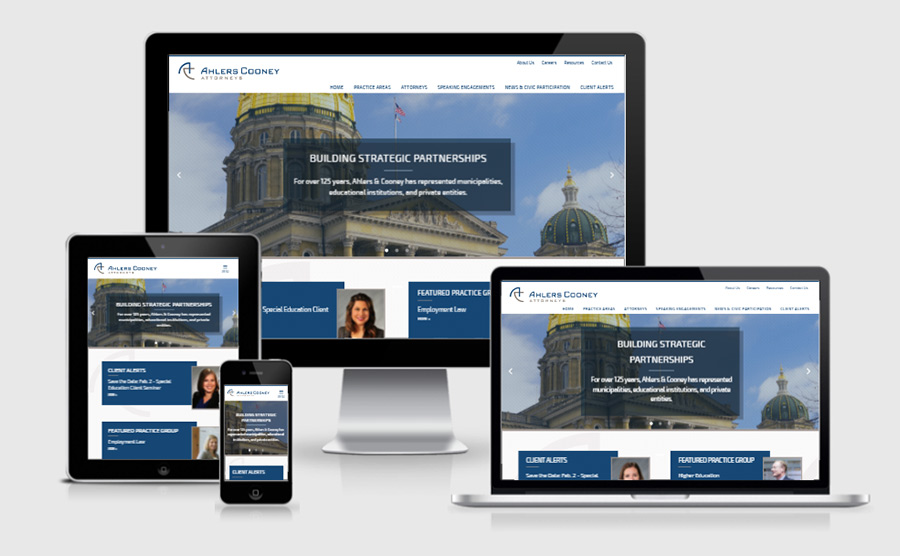 Ahlers Cooney Attorney Responsive