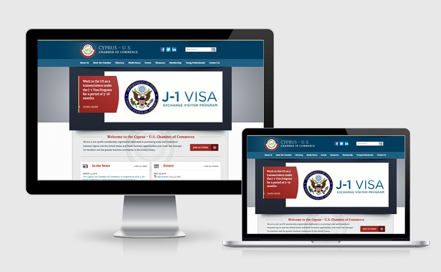 Cyprus - U.S. Chamber of Commerce website showcase