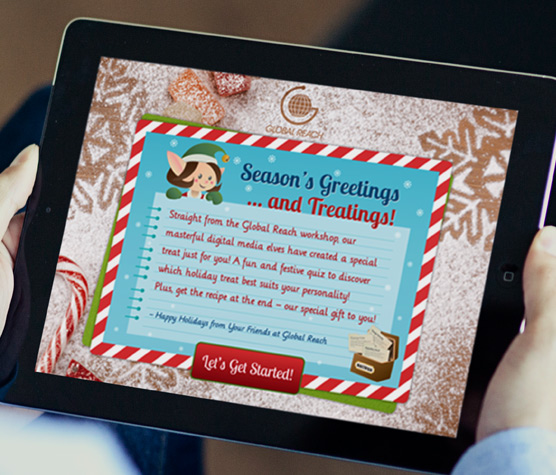 See Global Reach Holiday E-card details
