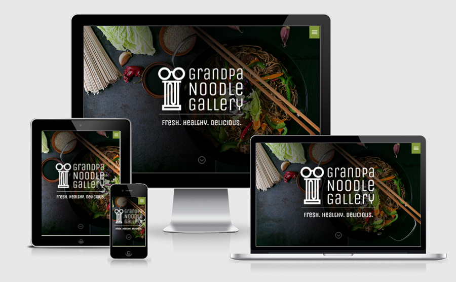 Grandpa Noodle Gallery Homepage