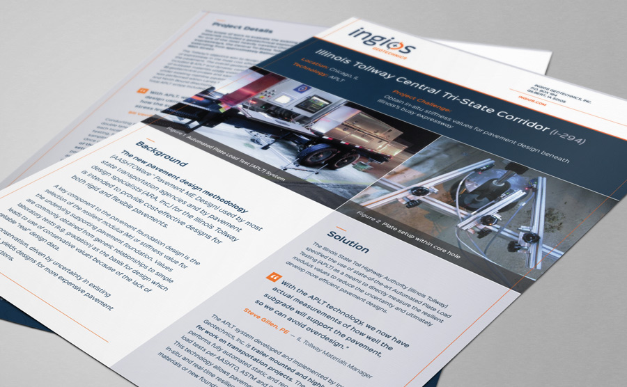 Ingios Project Summary design