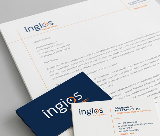 See Ingios Geotechnics Identity & Marketing Materials details