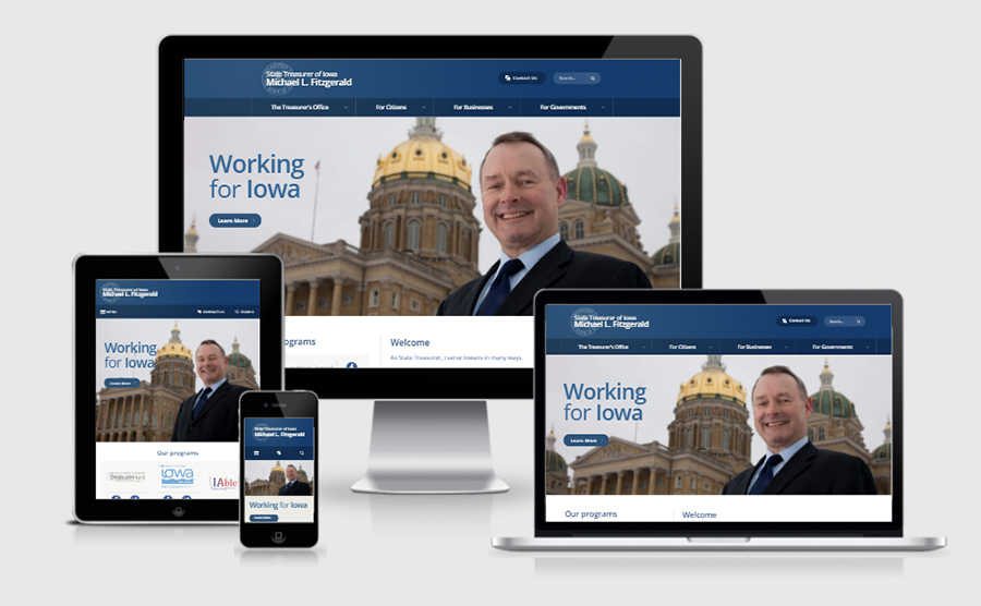 Iowa Treasurer Responsive Image