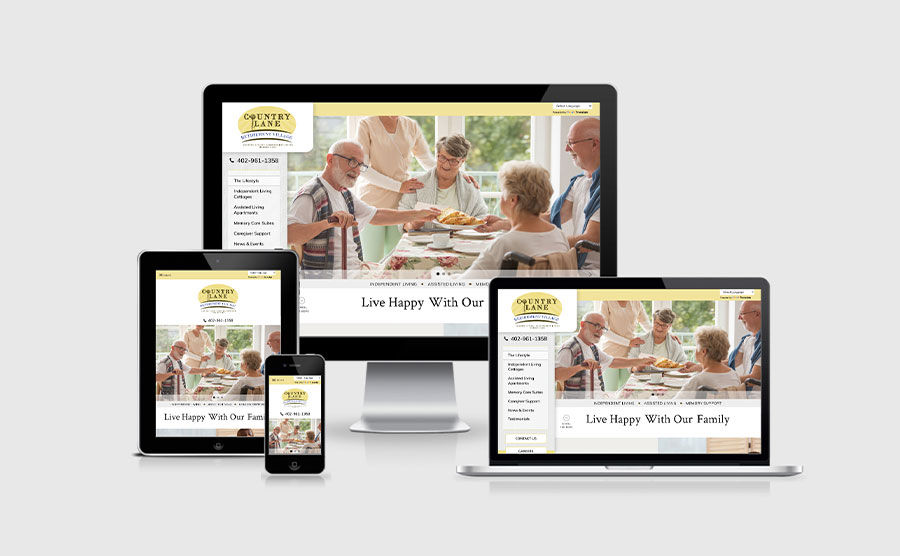 Country Lane Retirement Village Responsive