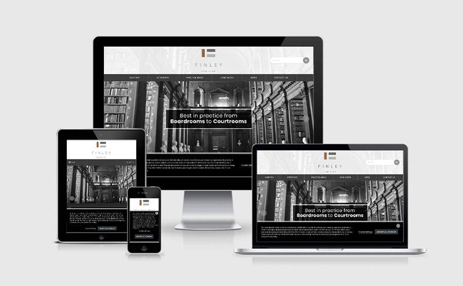 Responsive image of Finley Law Firm, PC