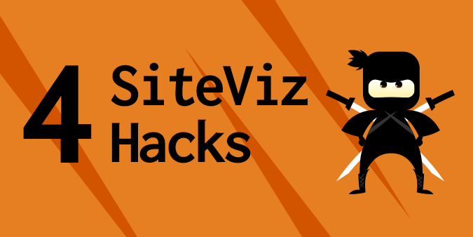 Animation of a ninja and 4 Siteviz Hacks