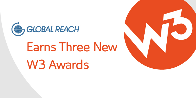 View post titled Global Reach Earns 3 New W³ Awards