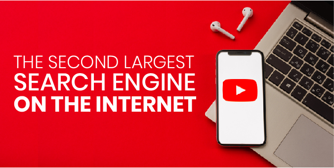 Graphic for the Second Largest Search Engine in the world, YouTube
