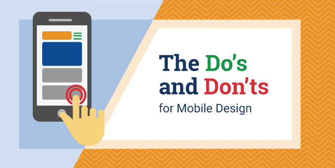 View post titled The Do's and Don'ts for Mobile Design
