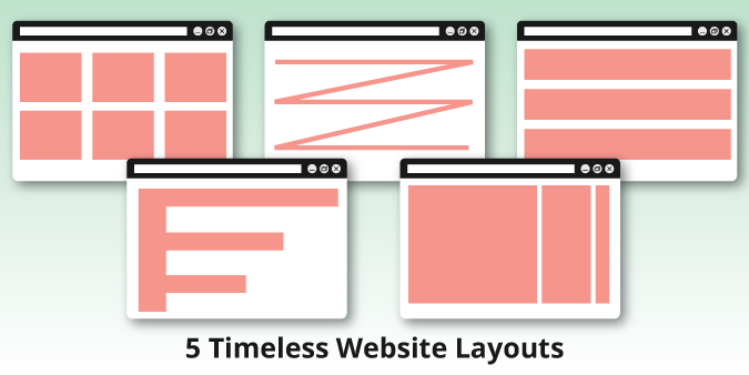 View post titled 5 Timeless Website Layouts and When They Are Most Effective