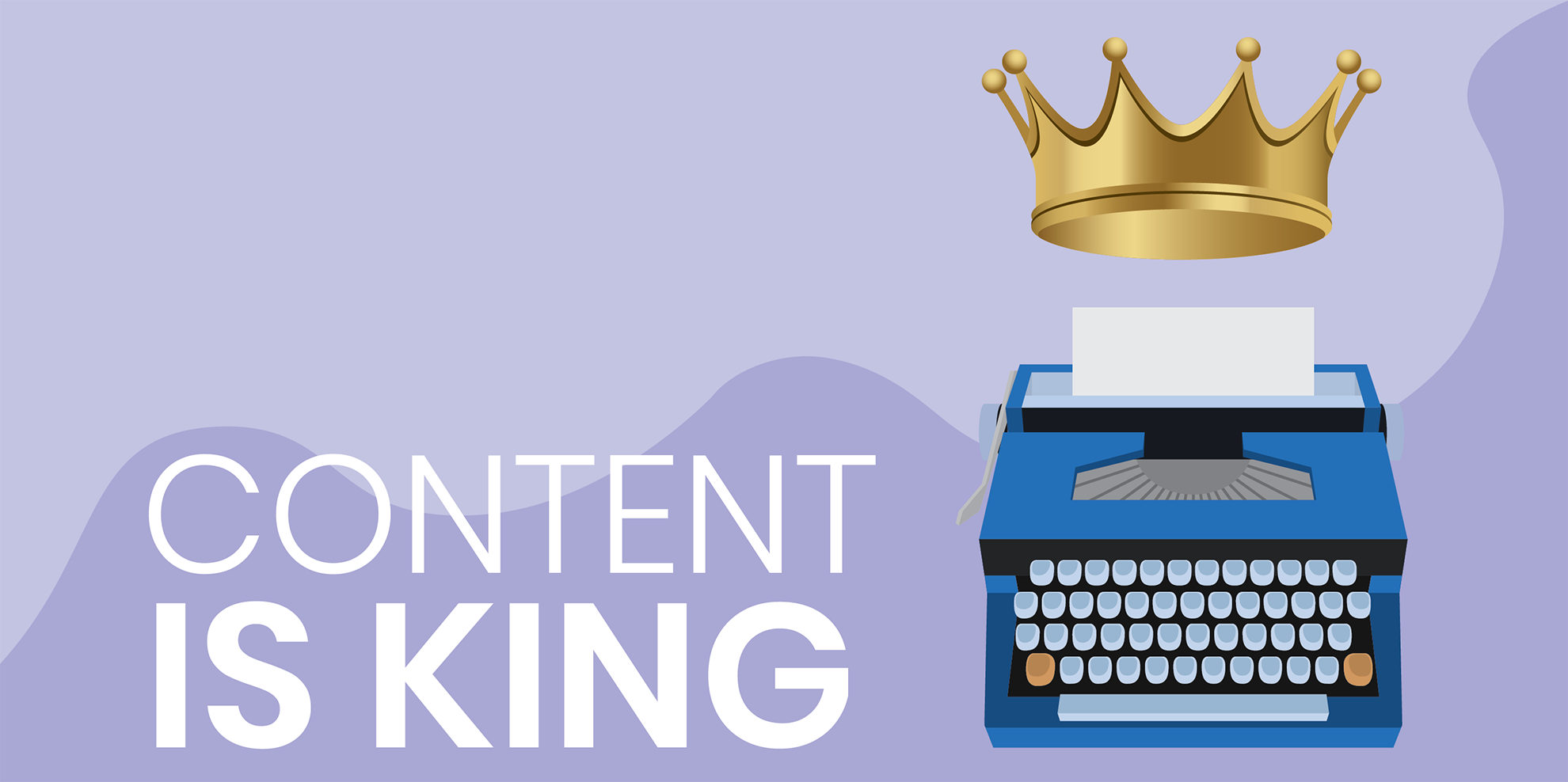 Illustration of how Content is King (by Global Reach)