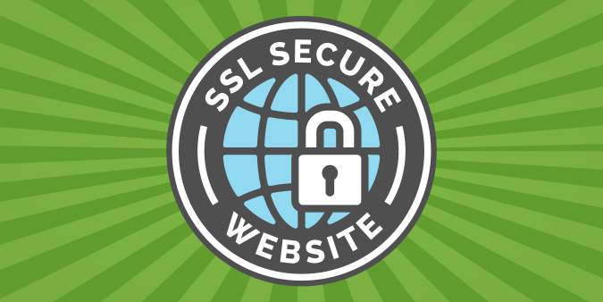Animation of SSL secure website