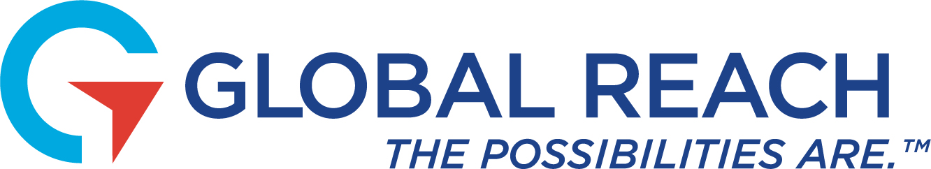 New Global Reach Logo with Slogan.
