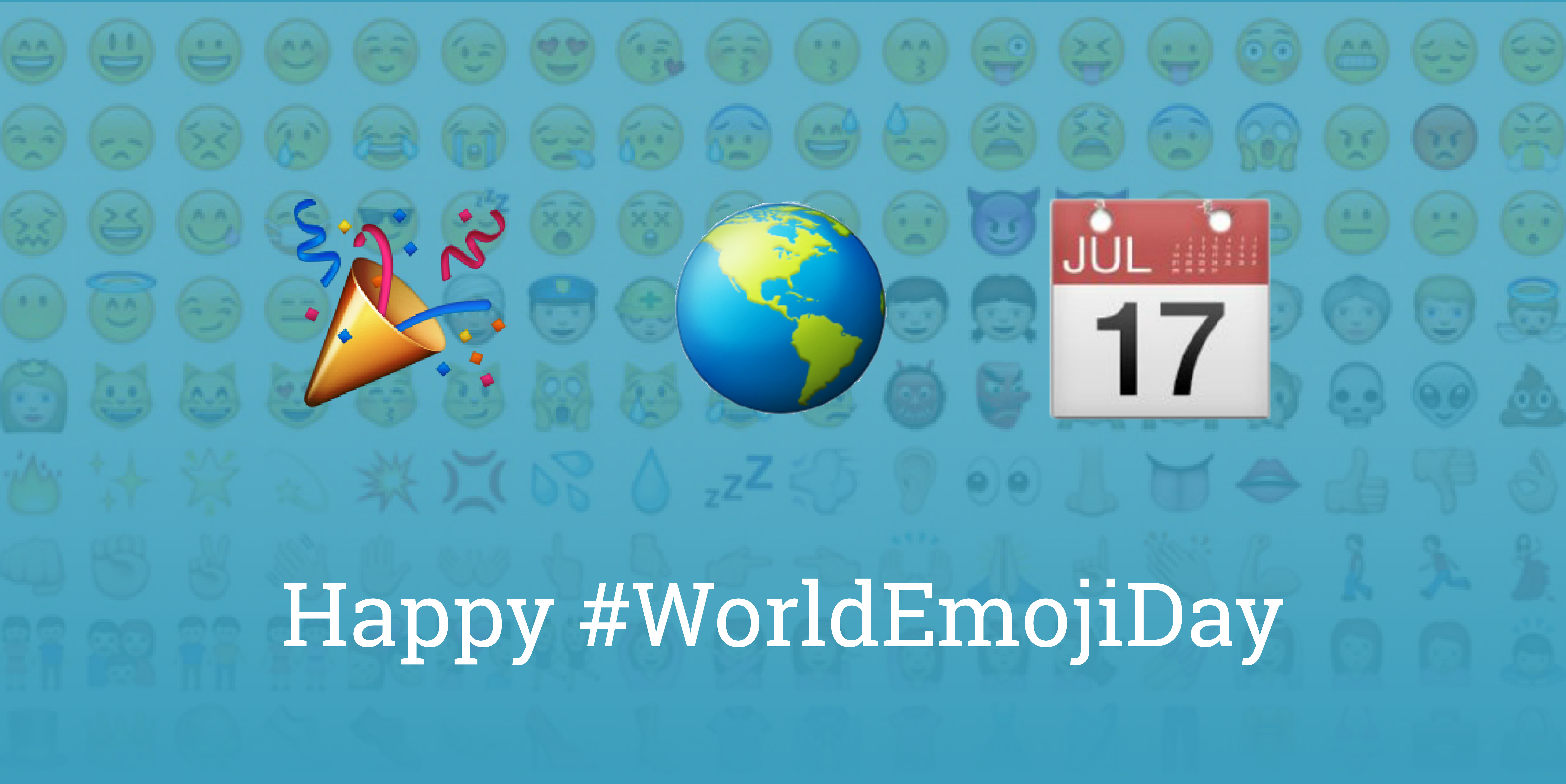 Emoji day graphic