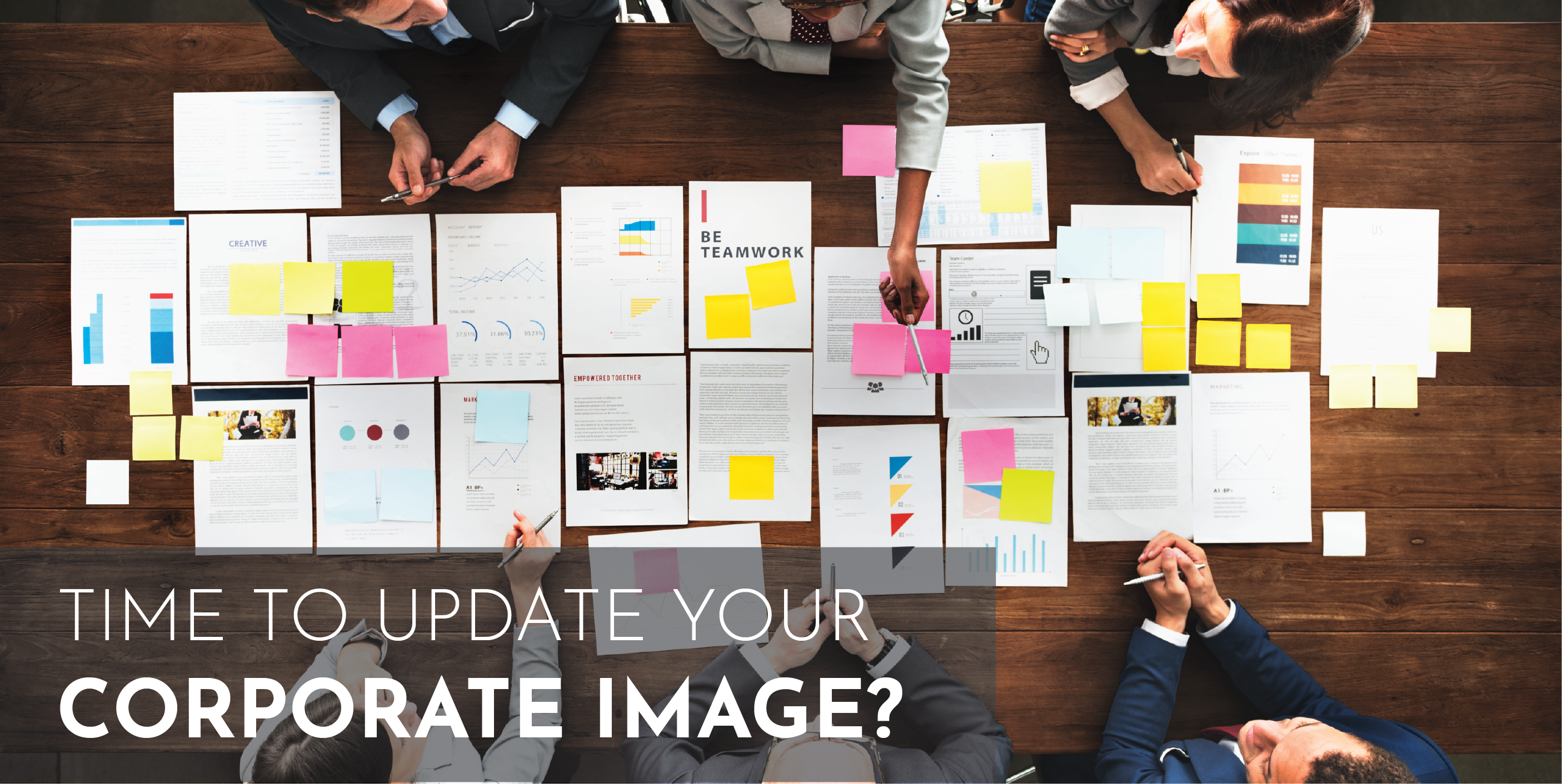 Time To Update Your Corporate Image